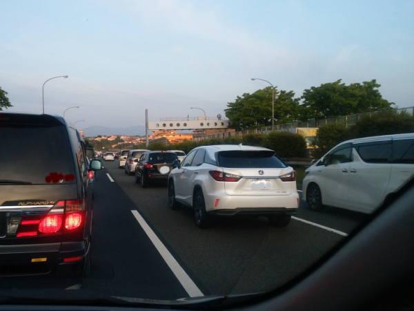 am05:00もう渋滞