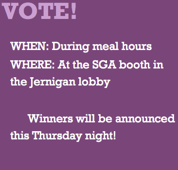 Trevecca's ASB election voting opens today