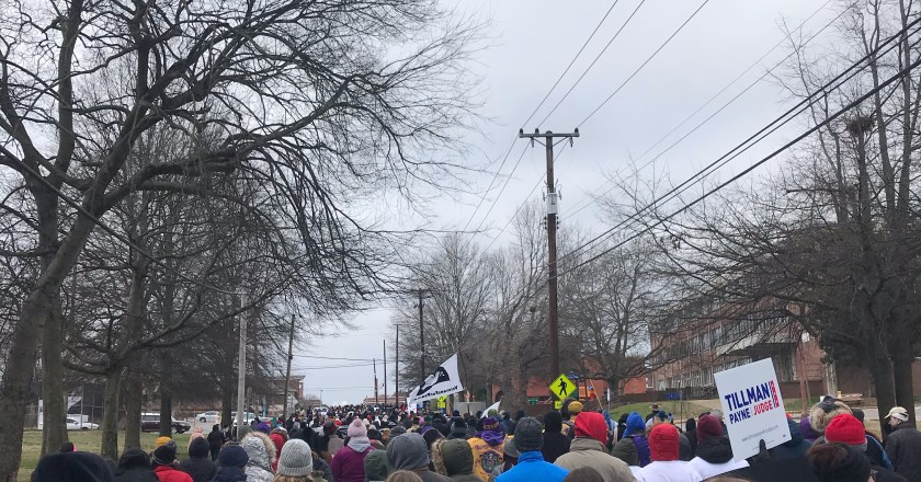 Trevecca students march for a common goal