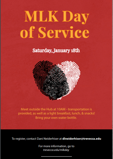 Trevecca students to serve at the Martin Luther King Day of Service