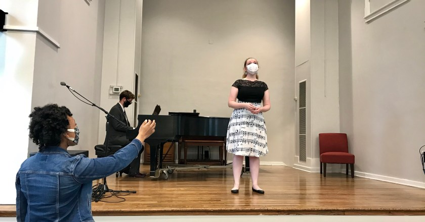 Voice instructors adapt to teaching in a pandemic