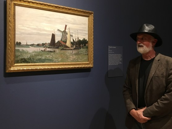 Treve at the Monet Exhibit at California Palace of the Legion of Honor
