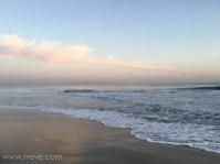 The beach in Santa Cruz
