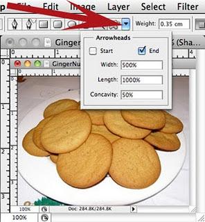 Photoshop arrows - step 3