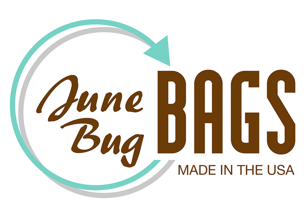 June Bug Bag logo - designed by Trevellyan.biz, Columbia County, NY graphic designer