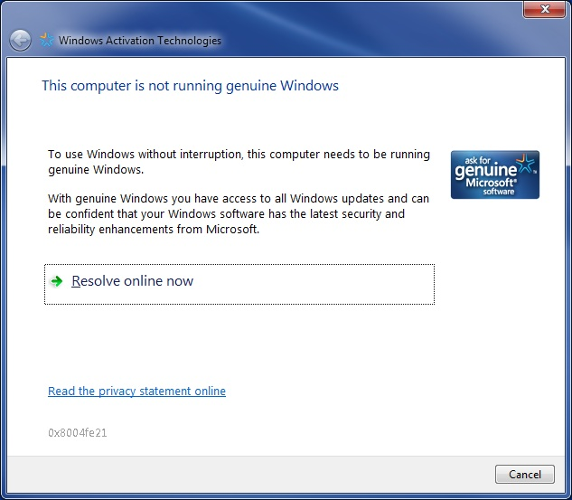 Genuine Windows 7. How To Tell What You\u0027re Running