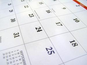WordPress Calendar of Events
