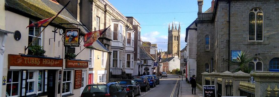 Treventon is a stroll into Penzance Town