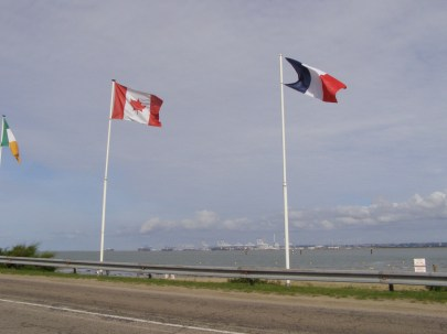 This is not a standard Canadian flag