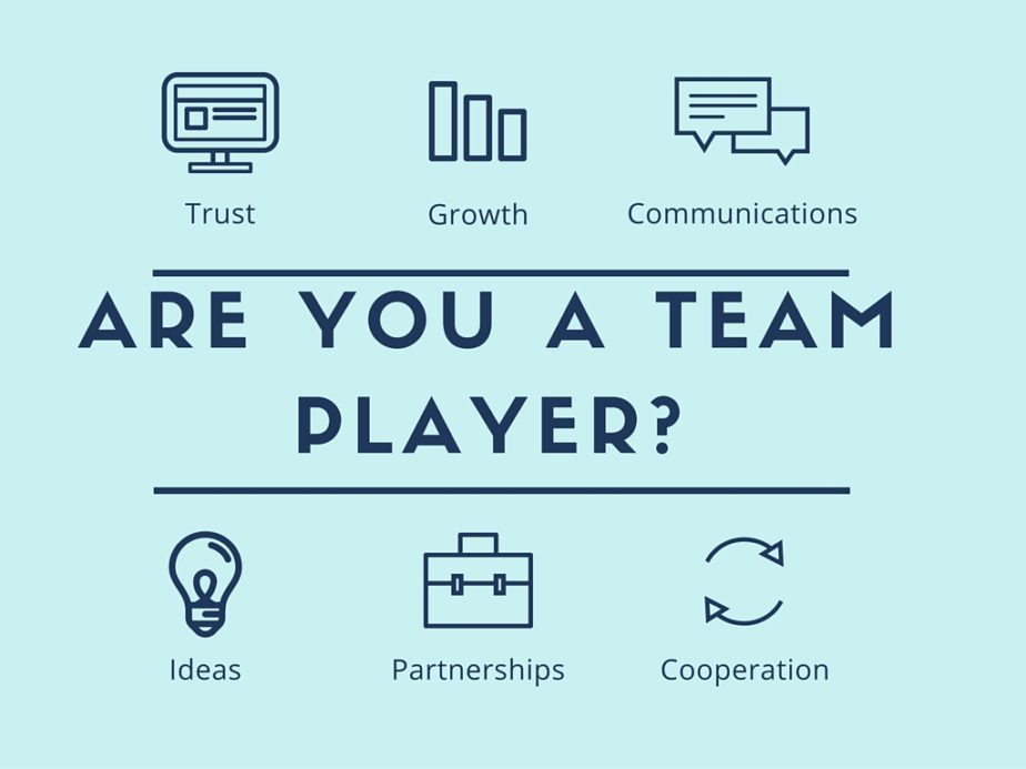 How To Be A Team Player?