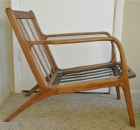 Danish Mid Century Teak Lounge Chair - Trevi Vintage Design