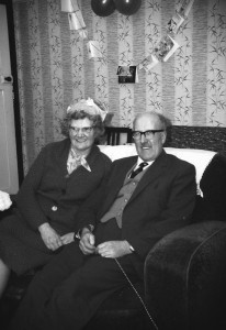 Granny and Granddad at Christmas