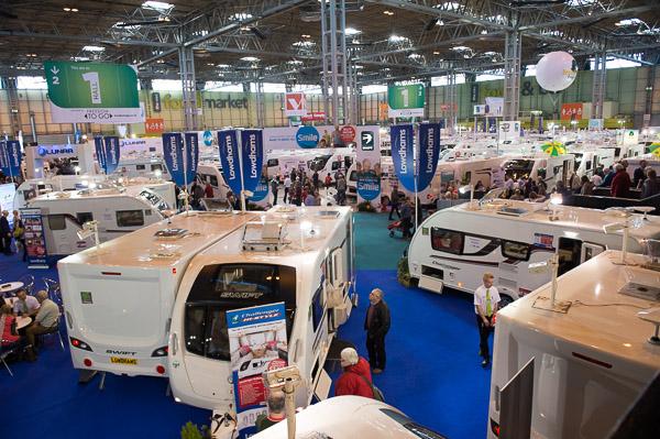 Caravan Camping Motorhome Show 2015 NEC