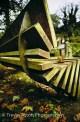 bench in Bushy Park Teddington Trevor Aston photography