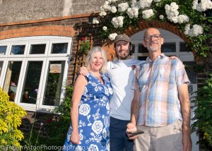 Doorstep Family Portraits – After the Clap for Carers