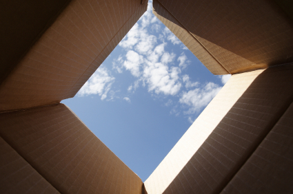 think outside the box...go for creativity, set your imagination free.