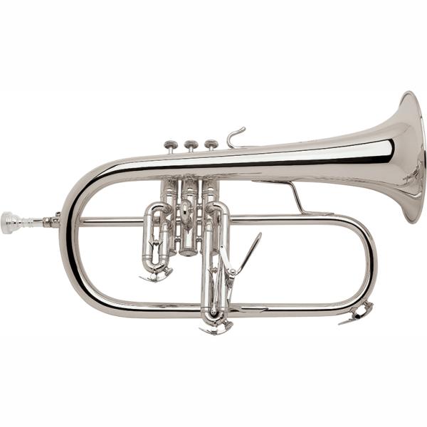 Bach 183S Stradivarius Silver Plated Flugel Horn