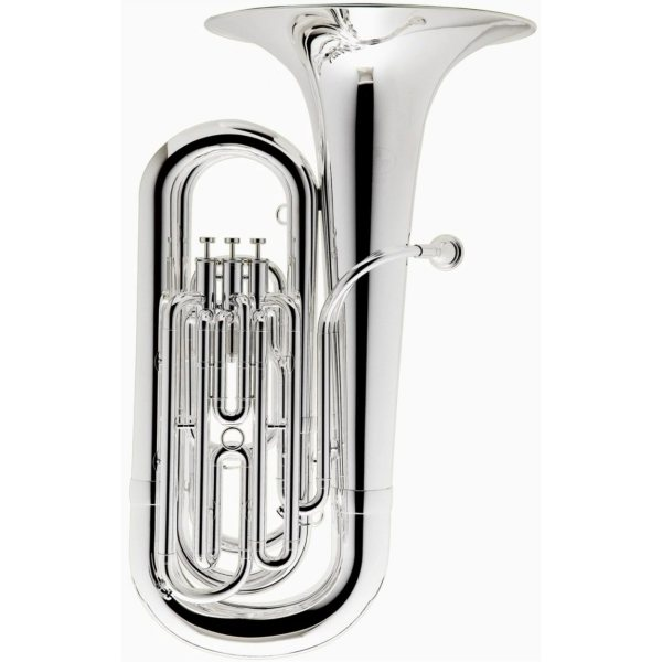 Besson BE187 New Standard Bb Tuba Silver