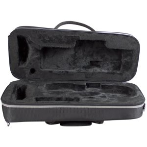 Champion shaped trumpet case black nylon