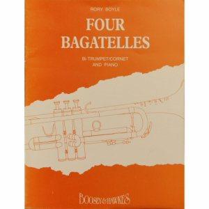 Four Bagatelles Trumpet Rory Boyle