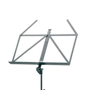 K M heavy duty black music stand 10700 thumb