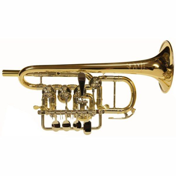 Scherzer 8111 Rotary Valve Piccolo Trumpet