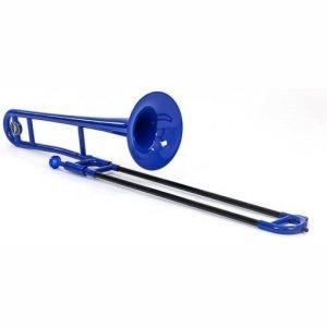 Tromba Blue Plastic Trombone