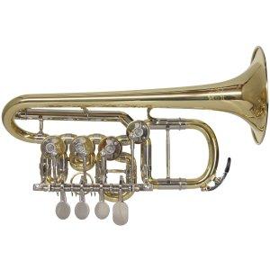 Festivo Rotary Valve Piccolo Trumpet