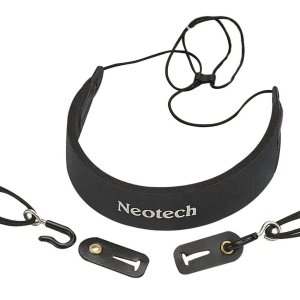 Neotech 'CEO' Comfort Clarinet/Cor Anglais/Oboe strap - black