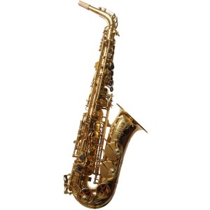 System 54 R-Series Power Bell Alto Sax Dark Gold Lacquer