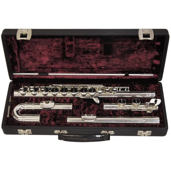 Monnig Alto Flute - Curved and Straight Heads
