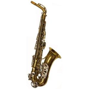 Vintage Evette Schaeffer Paris Alto Sax
