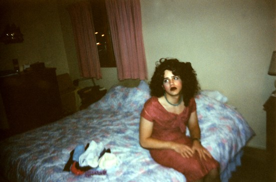 Self-Portrait as Nan Goldin