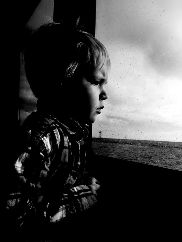 Grant on the Ferry