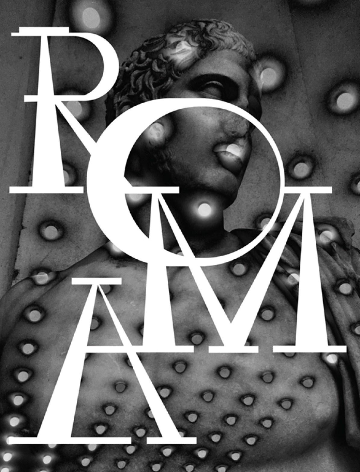"""""""Roma"""" Book Cover"""