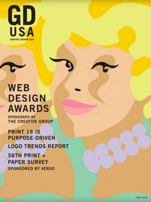 Graphic Design USA - Cover Illustration