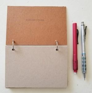 Finished Tone Paper Sketchbook