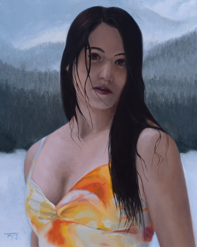 Portrait of Spring - Oil Painting