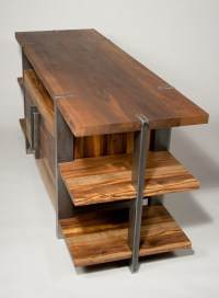 Wood & Metal Living Room Suite | Trevor Thurow Furniture ...