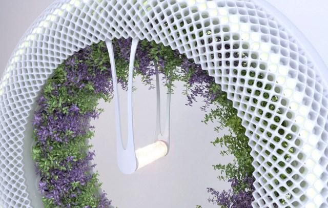 Revolutionary Hydroponic Garden Grows Food Year-Round Utilizing NASA Technology.