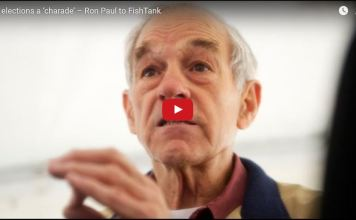 Dr. Ron Paul discusses what he calls the 'charade' of US elections with RT America's Lindsay France.