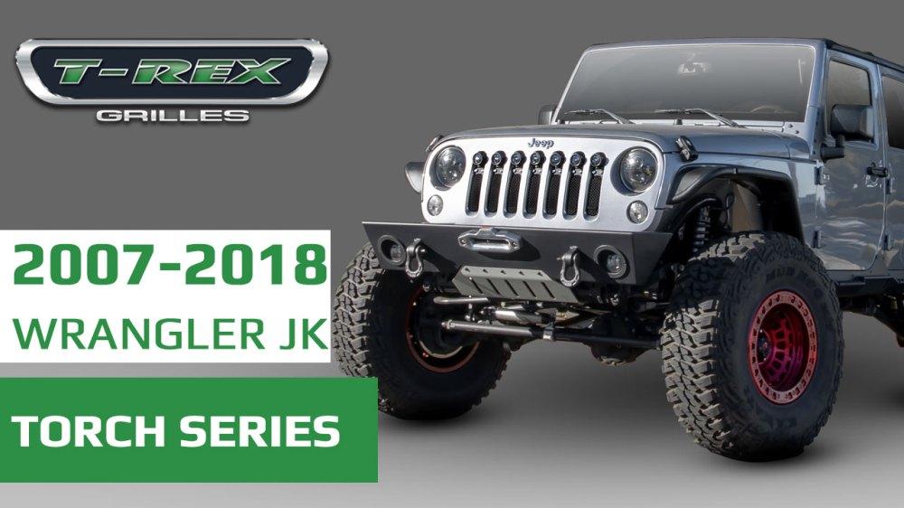 medium resolution of jeep wrangler jk grilles video