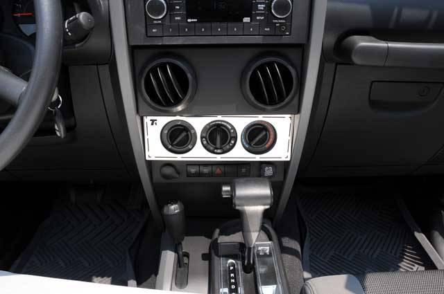 Jeep Wrangler Dash Diagram