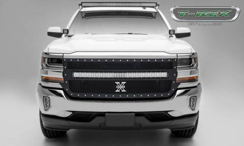 small resolution of t rex grilles chevrolet silverado torch series 1 40 led light