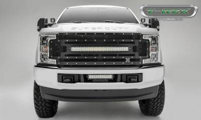led bar wiring diagram rv solar panel torch series grilles t rex ford super duty