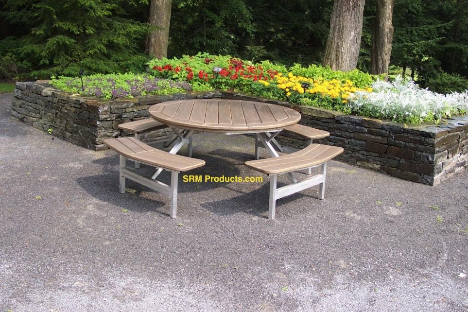 diy adirondack chair trex cushion covers picnic tables - polywood furniture