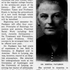 Bertha Paulssen