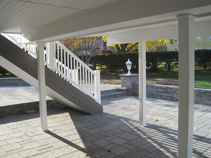 Inspiration  Under Deck Drainage System  Trex RainEscape