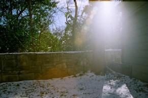 Snow vs. sun