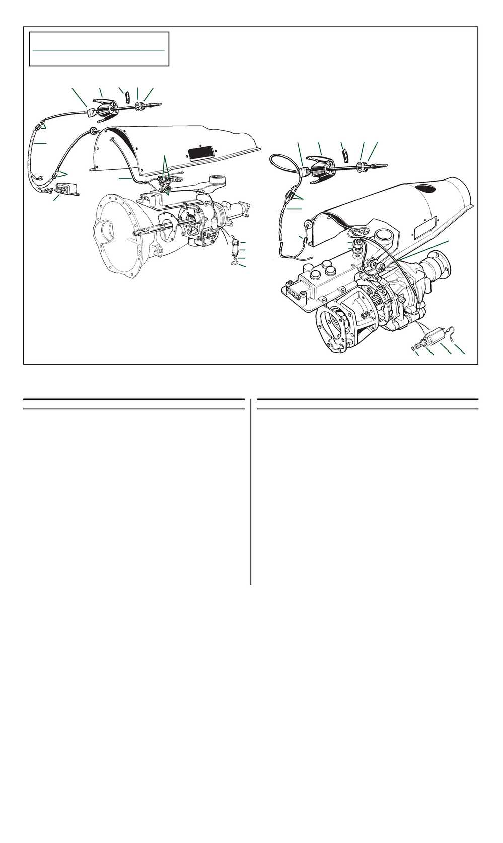 medium resolution of roadster factory overdrive electrical tr6 assembly manual volume 2 page 33